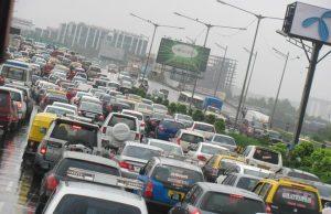 Mumbai Vehicles Density