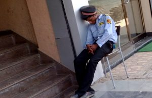 Skill Development for snoozing security guards