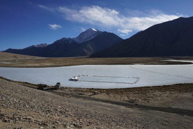 World's highest ice hockey rink in India