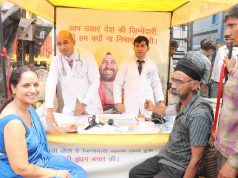 Shell Truck Drivers Health Camp