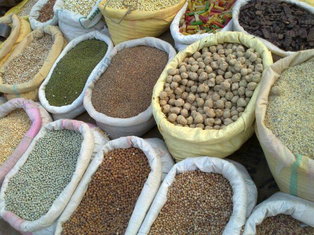 Food grains distribution
