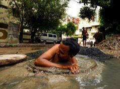 Manual scavenging in India