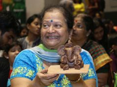 Nahar eco-friendly Ganesha workshop
