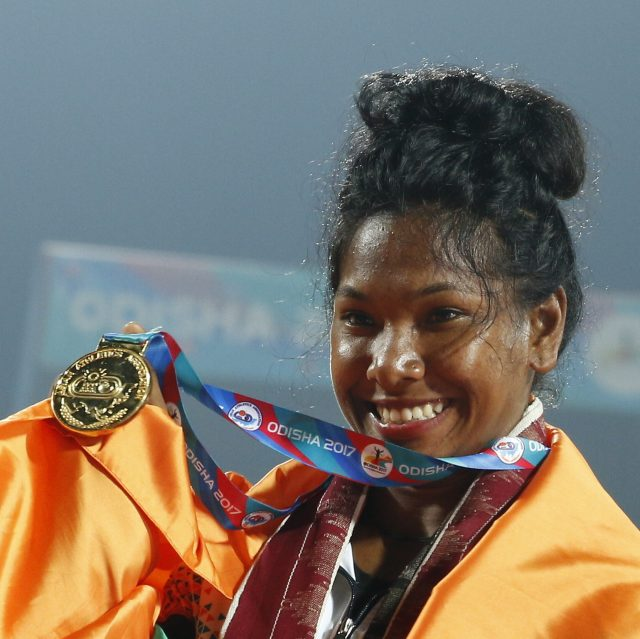 Athlete Swapna Barman