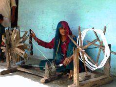 Khadi artisan