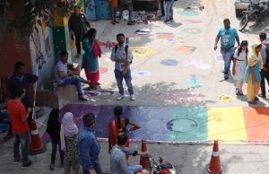 road safety through street art