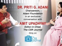 Dr. Priti Adani, Chairperson, Adani Foundation