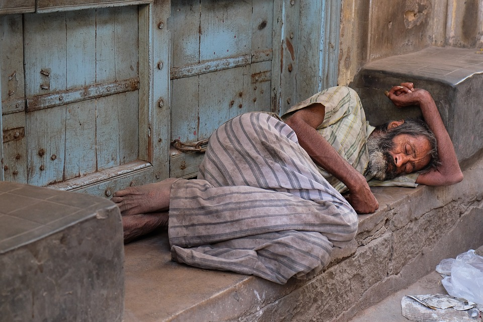 Homeless in India