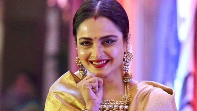 Rekha makes menopause look good