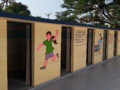 Toilets by We are Water foundation and Roca