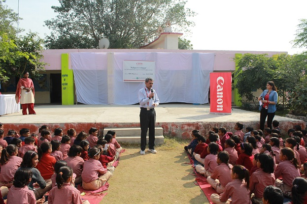Canon India celebrating Children's Day