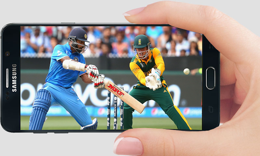 Sports on mobile phone
