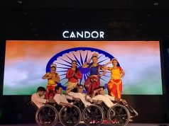 Performance by specially abled dancers