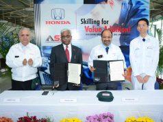 Honda skill development MoU