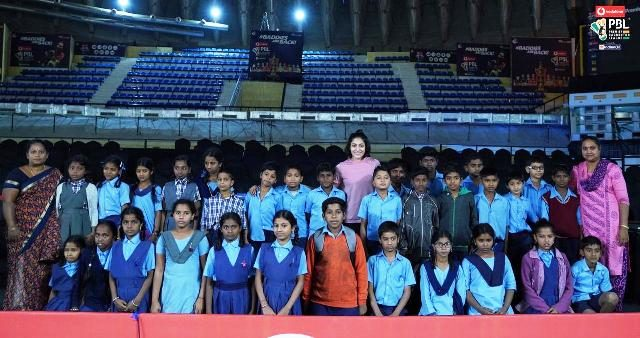 Ashwini Ponappa with CRY Kids