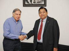 Ratan Tata and AM Naik
