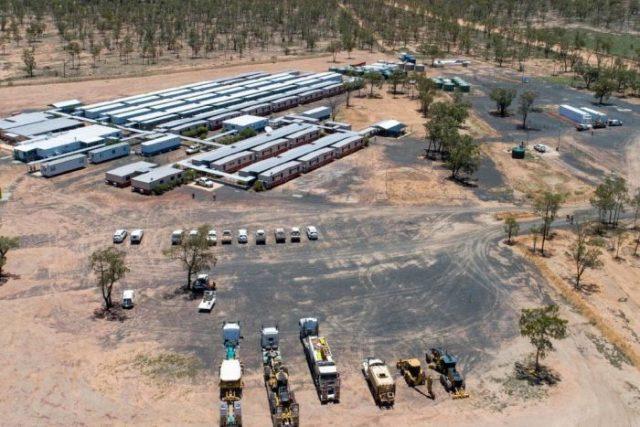 Adani coal mine site in Australia