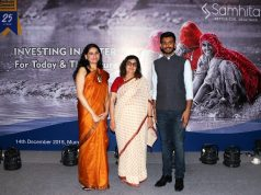 Pearl Tiwari and Priya Naik with Varun Sanghvi