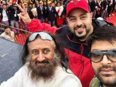 Kapil Sharma, Badshah, Sri Sri Ravi Shankar at Drug Free India launch