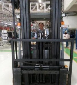 Bharti Vitmal, Forklift Operator