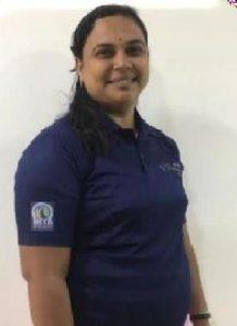 Sunita Santosh Palve, driver cum instructor