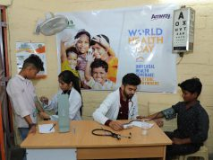Amway Health Camp