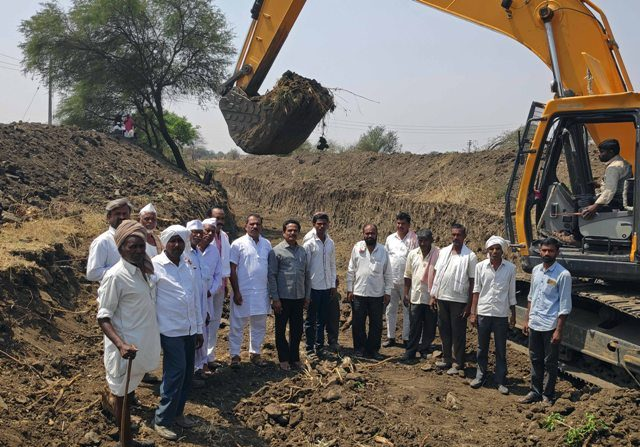 Destillting work in Latur district