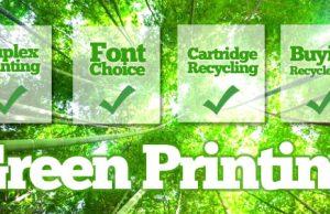 HP Green Printing