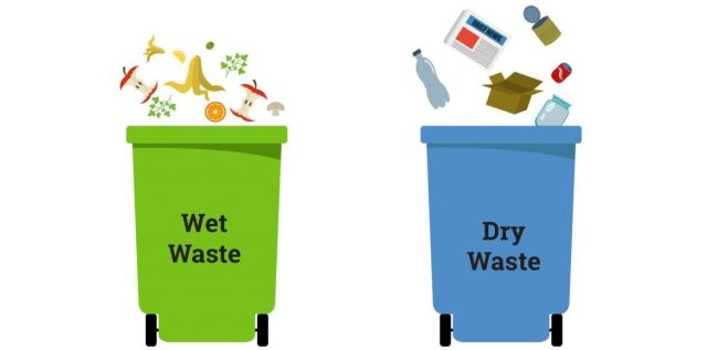 dry and wet waste