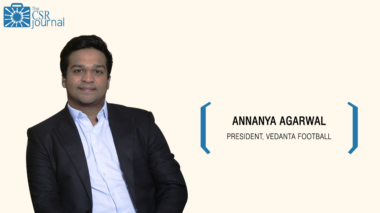 Annanya Agarwal, President, Vedanta Football