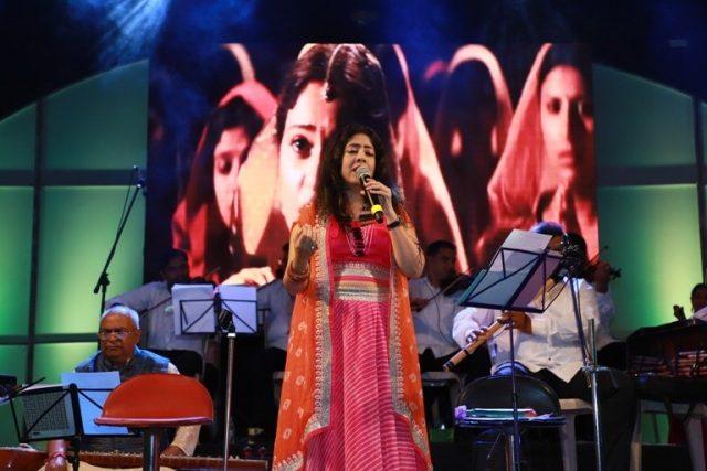 Sanjeevani Bhelande performing at Inspire by Mastek Foundation