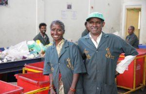 The Body Shop Plastic for change-Shivasiddha's Segregation Centre