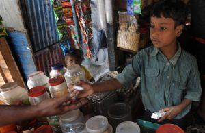 Tobacco Children India