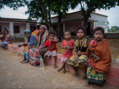 Kids affected by Cyclone Fani