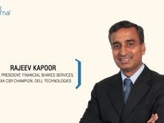 Rajeev Kapoor, Vice President, Financial Shared Services, India CSR Champion, Dell Technologies