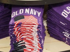Old Navy purple T shirt wide