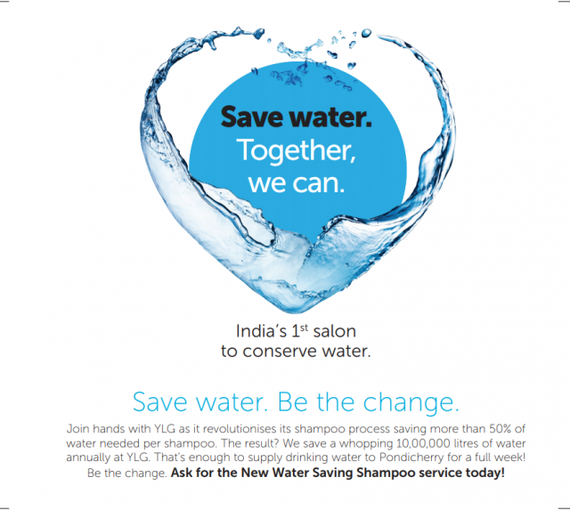 Save water - YLG