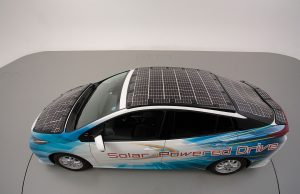 Toyota introduces solar in EVs