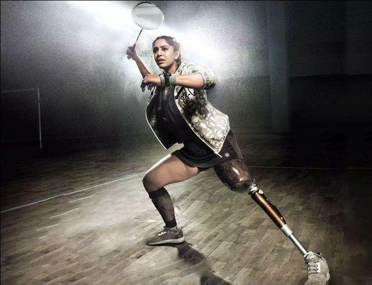 Badminton player Manasi Joshi