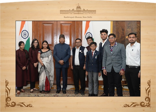 FUEl with President of India