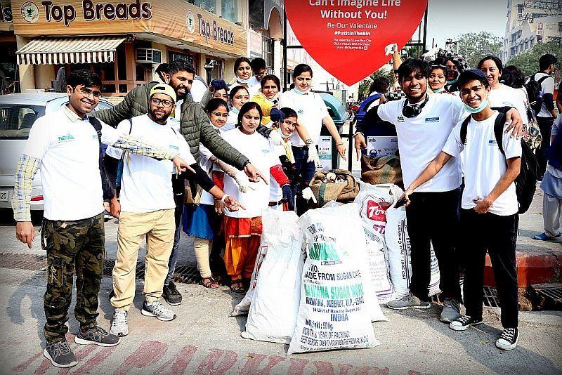 Clean Noida campaign