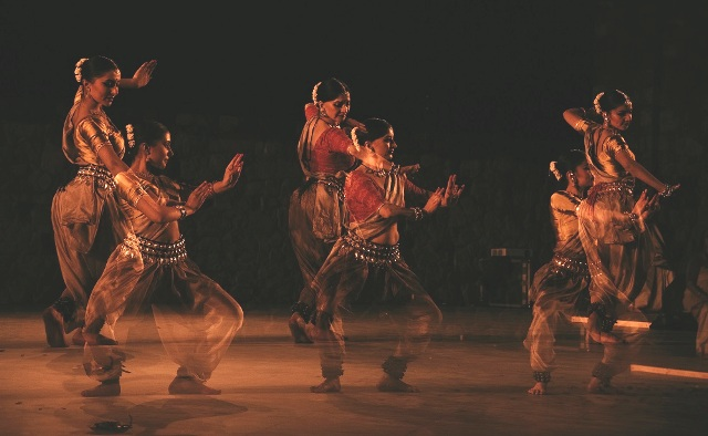 An Odissi dance performance held on International Women's Day in India
