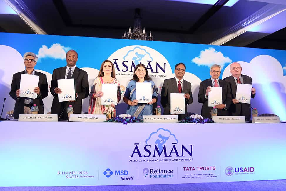 Project ASMAN for Maternal Health by Reliance Foundation