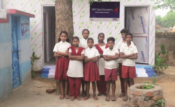 Toilets in govt schools