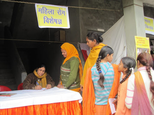 Health camp for women by BHEL CSR for health