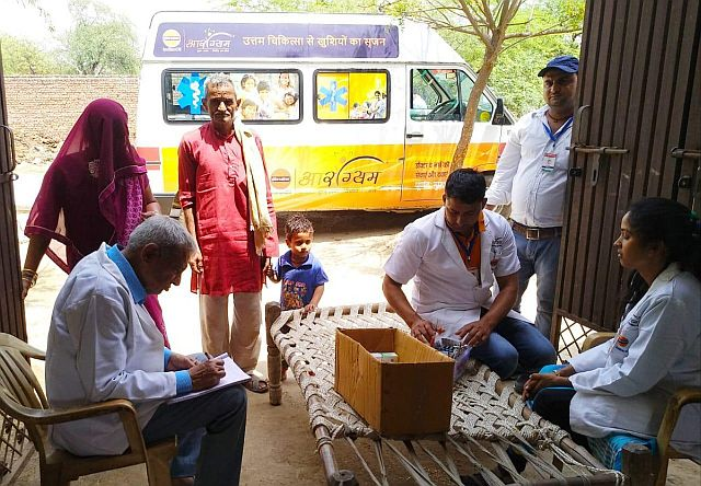 IndianOil Aarogyam mobile clinic