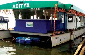 Aditya - India's First Solar Powered Ferry