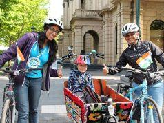 Bicycle Mayors Bhairavi Joshi and Nikita Lalwani - World Bicycle Day
