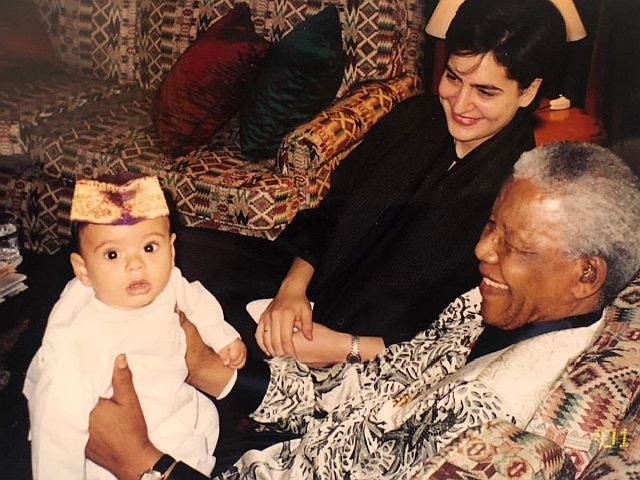 Mandela loved children