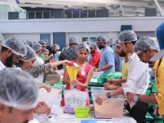 RAHI distributed meals